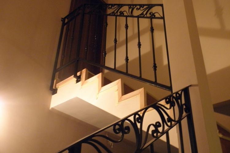 Kovácsoltvas Lépcsőkorlát