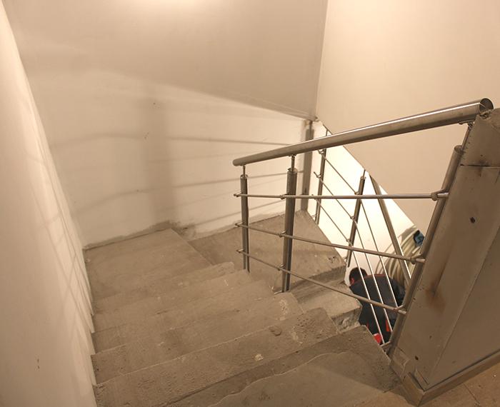 Rozsdamentes Lépcsőkorlát